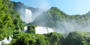 Marmore Falls Umbria Italy